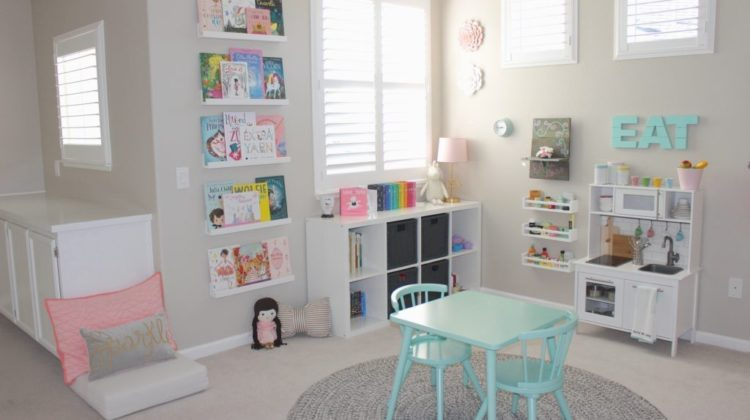 How to Organize Your Kid's Playroom With Design In Mind